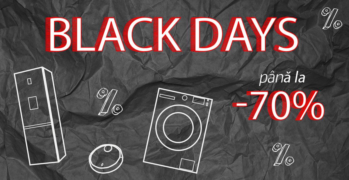 "A inceput campania ""Black Days"" la evoMAG!"