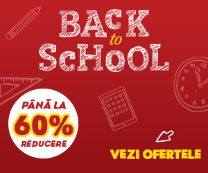 "A inceput campania ""Back to School"" la evoMAG! Pana la 60% REDUCERE"