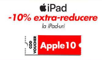 iPad -10% extra-reducere